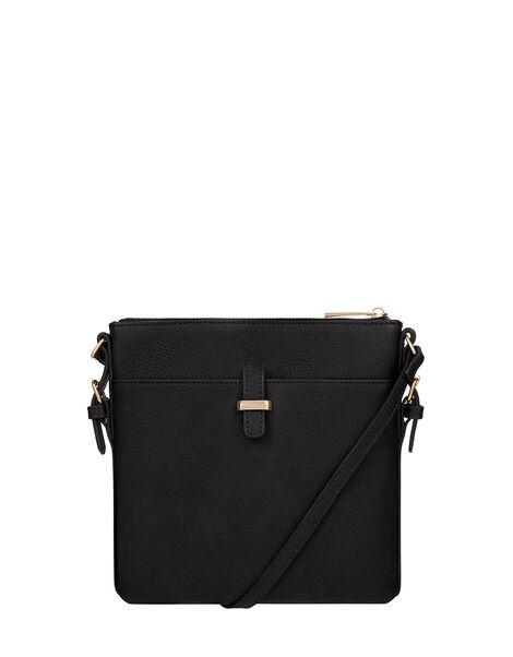 Modern Messenger Bag, Black (BLACK), large