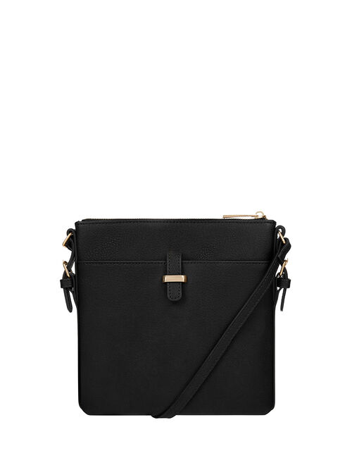 Modern Messenger Bag, Black (BLACK), large
