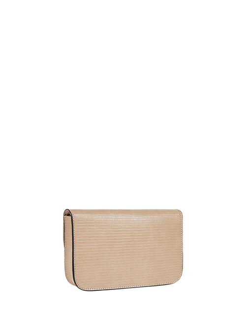 Edie Cross-Body Bag, Nude (NUDE), large