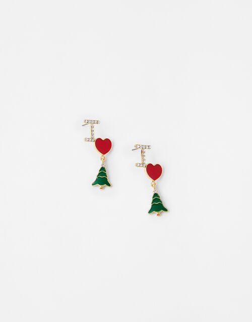 I Love XMAS Earrings, , large