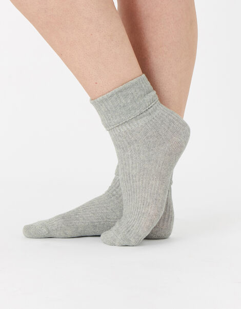 Luxe Socks in Cashmere Blend, , large