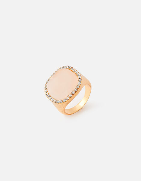 Sparkle Stone Chunky Ring Pink, Pink (PINK), large