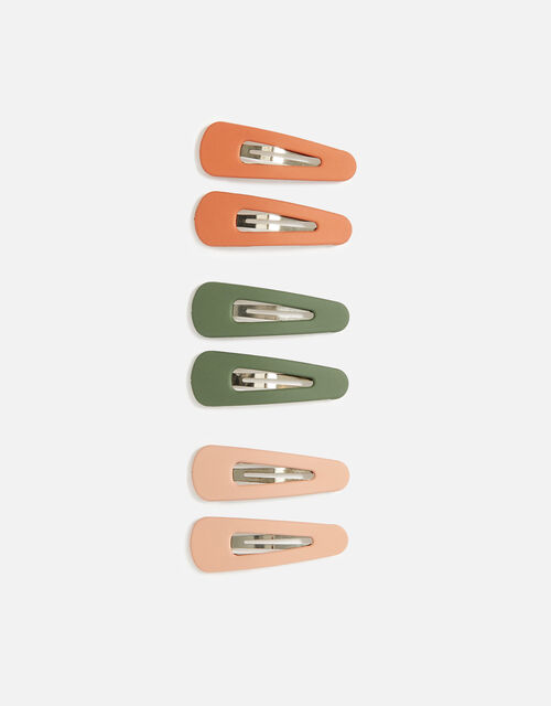 Small Matte Hair Clip Multipack, , large