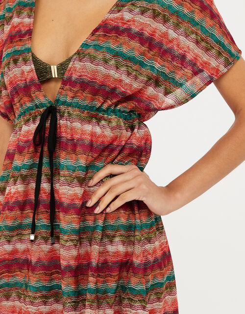 Lola Macramé Tabard Dress, Multi (PASTEL-MULTI), large