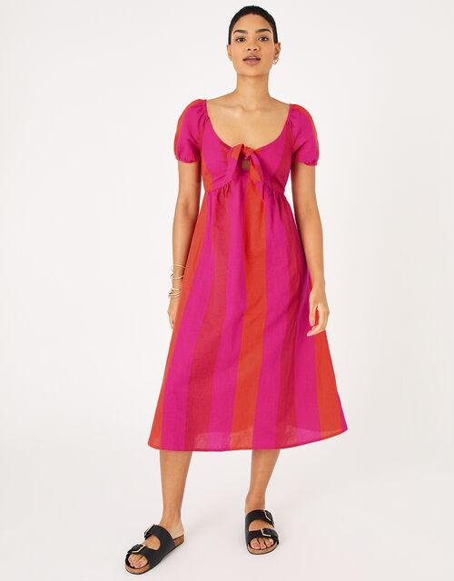 Colour-Block Beach Dress, Multi (BRIGHTS-MULTI), large