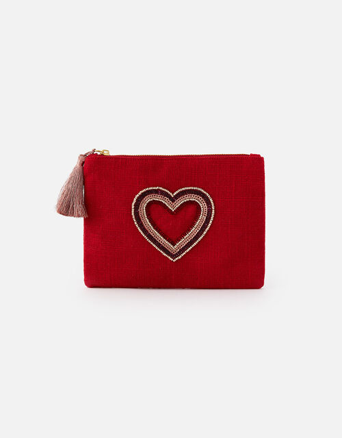 Heart Canvas Pouch , , large