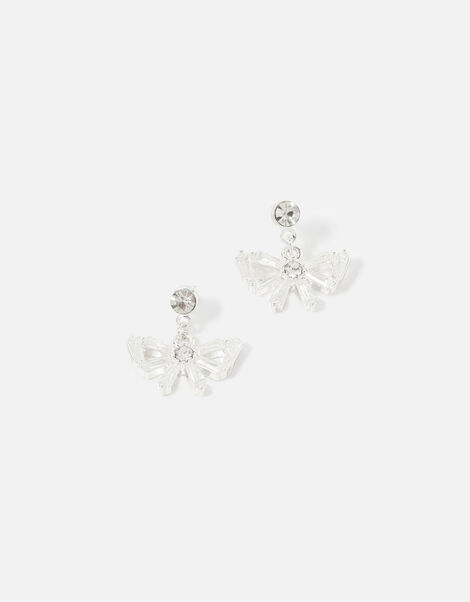 New Decadance Crystal Bow Earrings , , large