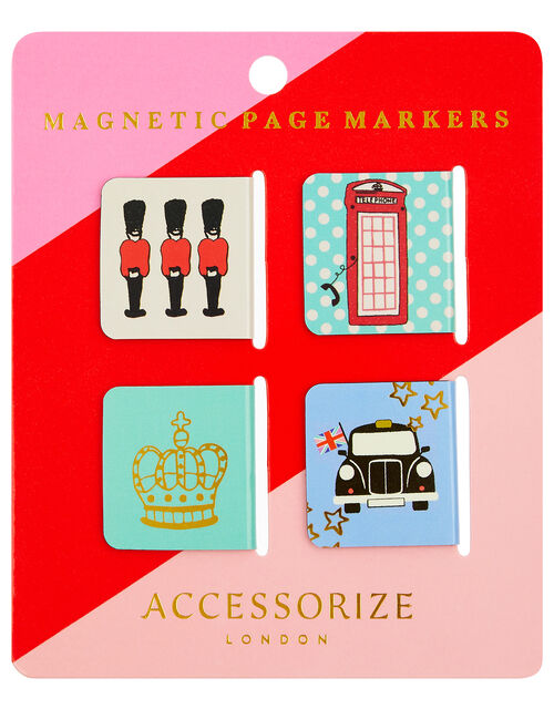 London Landmarks Magnetic Page Markers, , large