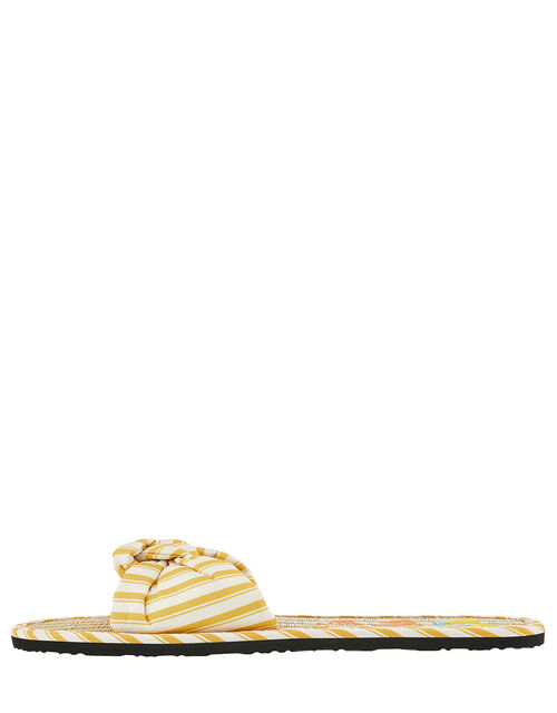 Ciao Bella Seagrass Sliders, Yellow (YELLOW), large