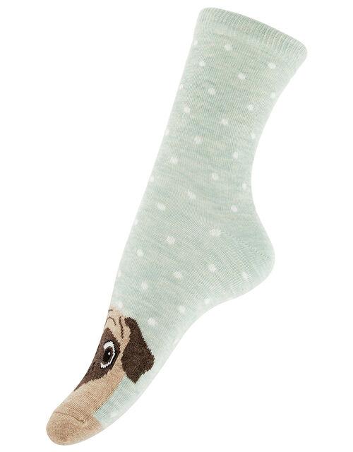 Pug Ankle Socks, , large