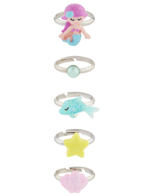 Mermaid Ring Multipack, , large