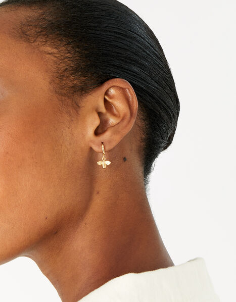 Gold-Plated Nature Earring Set, , large