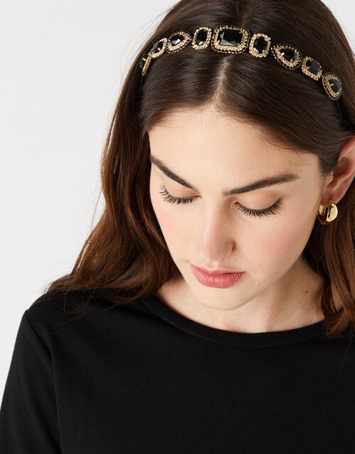 Statement Jewel Headband, , large