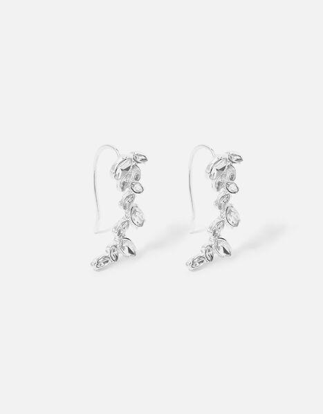 Berry Blush Crystal Crawler Earrings, , large