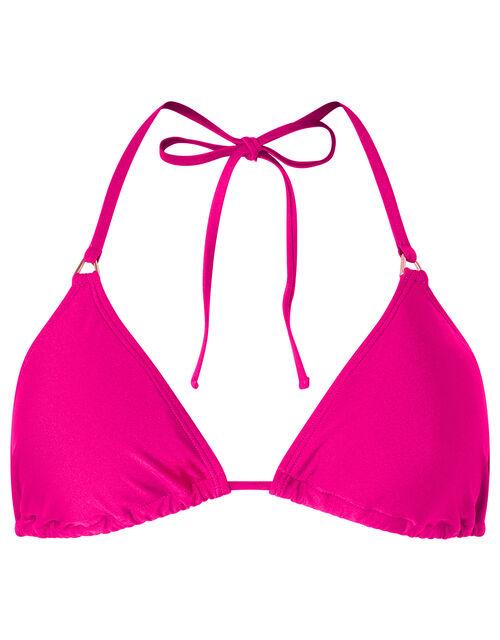Triangle Bikini Top, Pink (PINK), large
