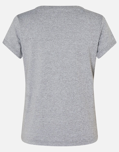 Girls Heart T-Shirt Grey, Grey (GREY), large