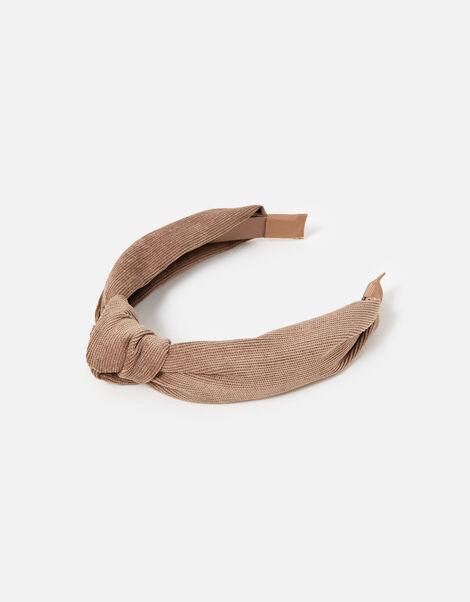 Cord Textured Knot Headband , , large