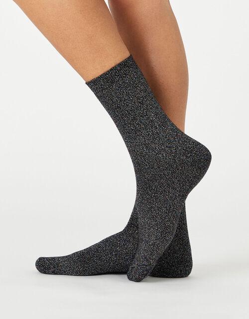 Sparkle Star Ankle Socks Multipack, , large