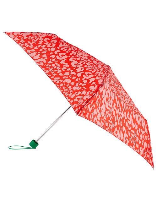 Colourful Animal Print Umbrella, , large