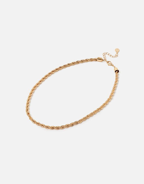 Berry Blush Twisted Rope Necklace, , large