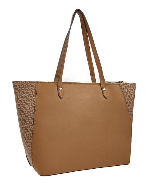 Emily Monogram Tote Bag, , large