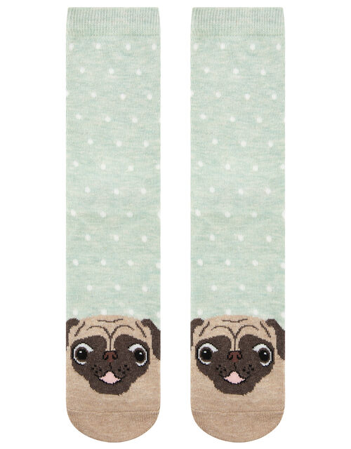 Pug Ankle Socks, , large
