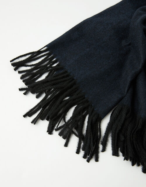 Holly Super-Soft Blanket Scarf Navy, , large