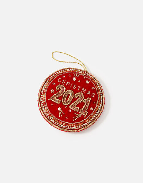 Christmas 2021 Hanging Decoration, , large