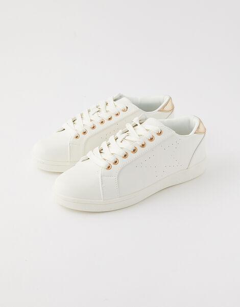 Star Trainers  White, White (WHITE), large