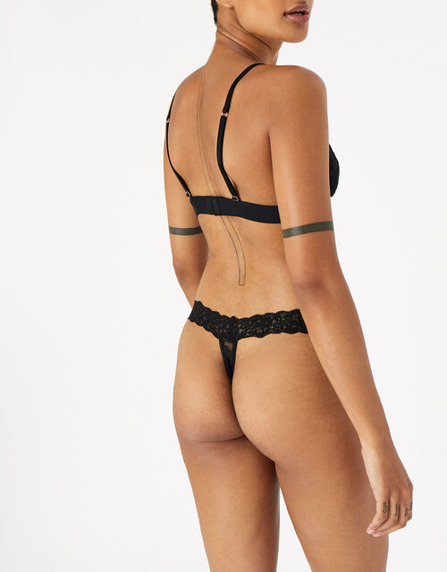 Lace Thong Multipack , Multi (ASSORTED), large