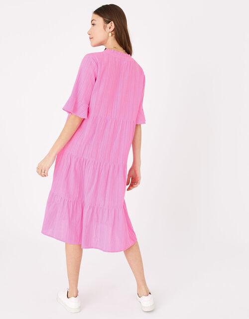 Trapeze Dress, Pink (PINK), large
