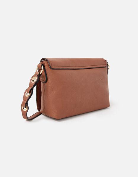Avani Cross-Body Bag  Tan, Tan (TAN), large