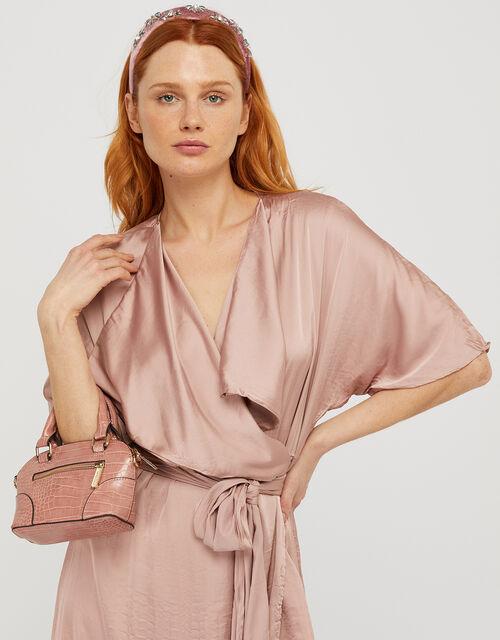 Cross-Body Kettle Bag, Pink (PINK), large