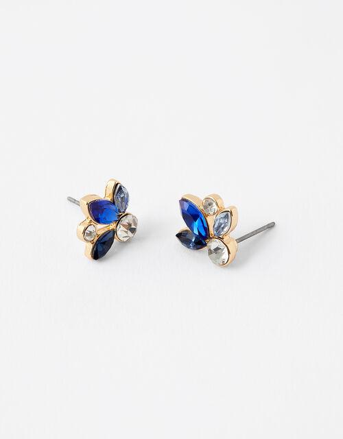 Ombre Gem Stud Earrings, , large