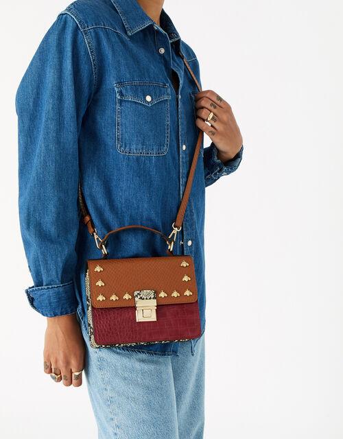 Bee Studded Handheld Bag, Multi (BRIGHTS-MULTI), large