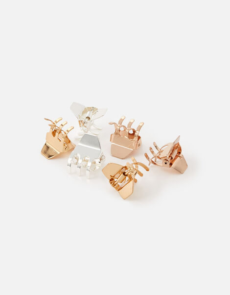 Mini Metal Claw Clip Set, , large