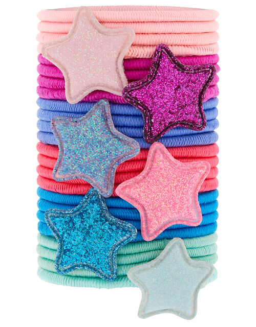 Glitter Star Hair Band Multipack, , large