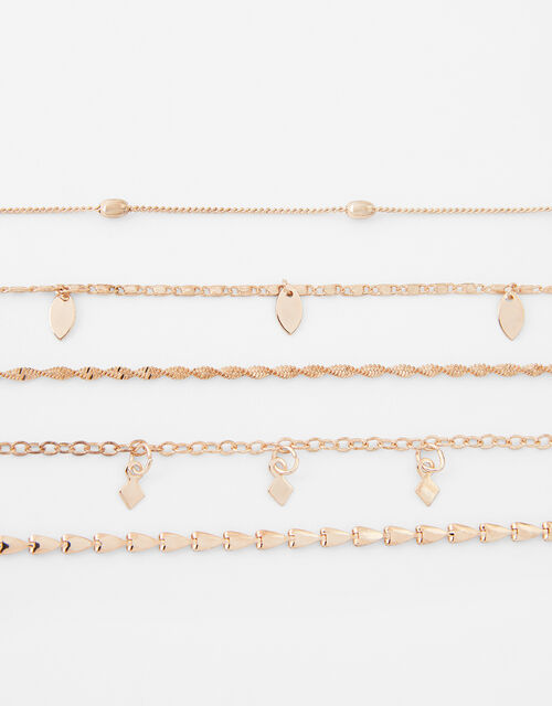 Delicate Chain Bracelet Multipack, , large