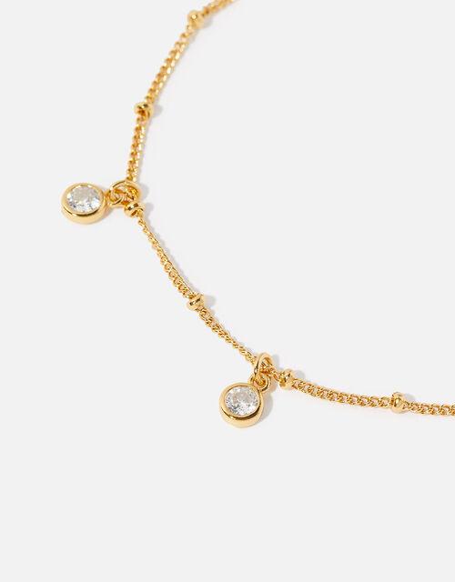 Gold-Plated Droplet Bracelet, , large