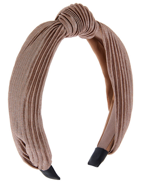 Wide Alice Hair Band, Metalic (METALLICS), large