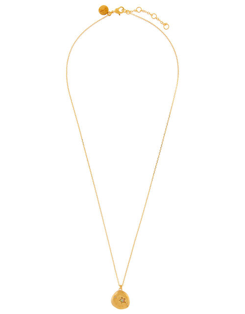 Gold-Plated Opal Zodiac Necklace - Aries, , large