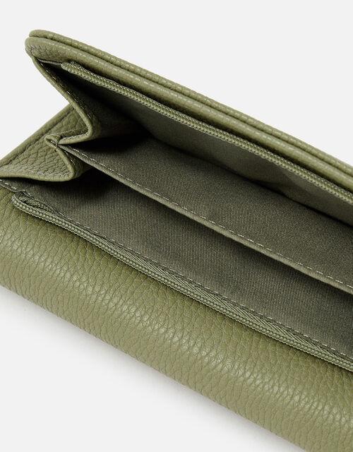 Britney Bee Wallet, Green (KHAKI), large