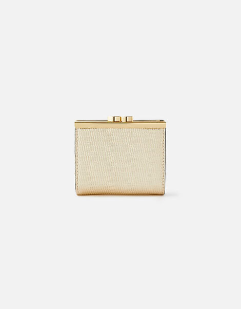 Bella Clip Frame Wallet  Gold, Gold (GOLD), large