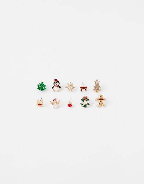 Christmas Stud Earring Multipack, , large