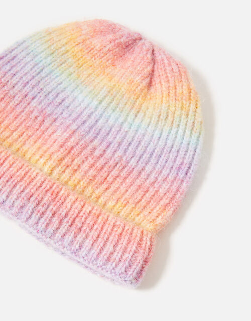 Girls Ombre Space Dye Beanie , Multi (BRIGHTS-MULTI), large