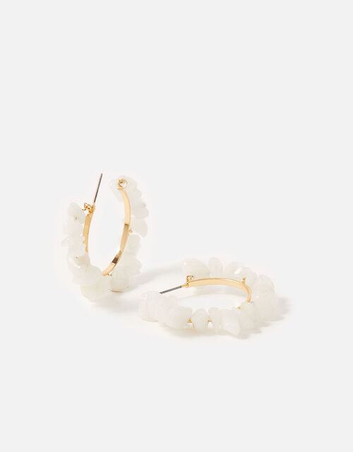 St Ives Small Hammered Hoops, , large