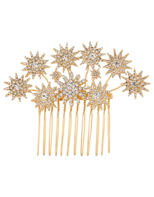 Sparkly Star Statement Hair Comb, , large
