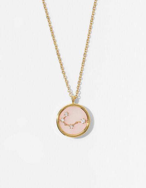 Rose Quartz Constellation Necklace - Cancer, , large