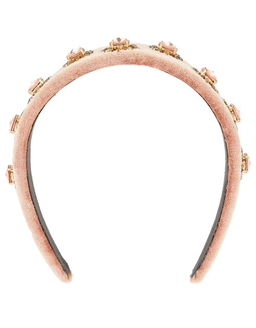 Starburst Embellished Headband, , large