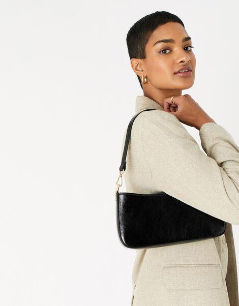 Roxanne Shoulder Bag Black, Black (BLACK), large